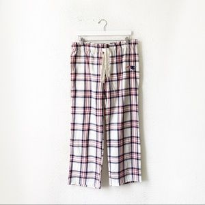 NFL Team Apparel Patriots Plaid Pajama Pants Large